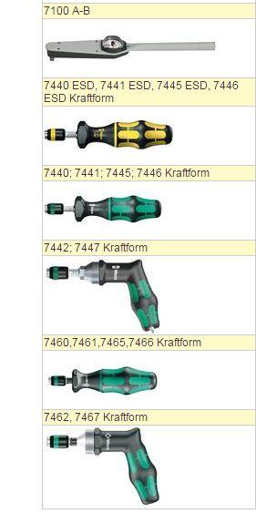 Купити Динамометричний інструмент 7440 ESD, 7441 ESD, 7445 ESD, 7446 ESD Kraftform