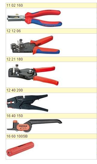 Купить Инструмент для снятия изоляции 11 02 160