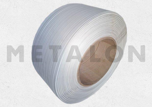 Buy The tape 16х0,8 is white polypropylene packaging
