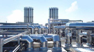 Buy Industrial chimneys from a stainless steel
