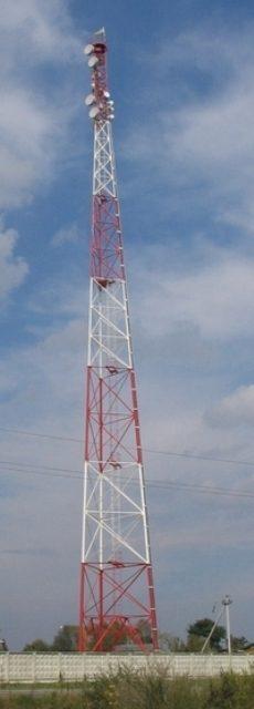 Купить Свободностоячие металлоконструкции и башни мобильной связи трубные 3-х опорные