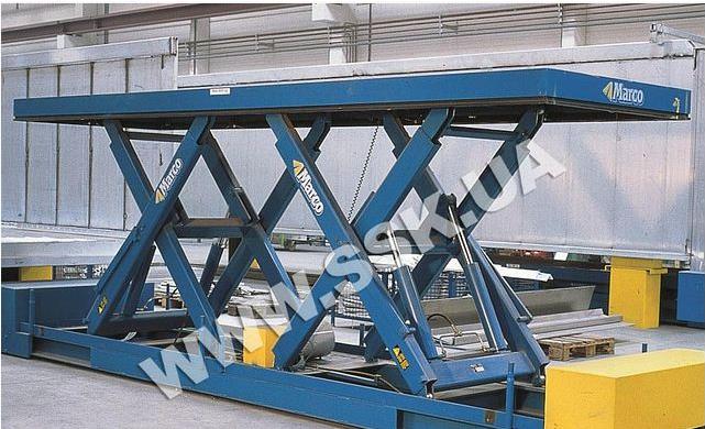 Автомобильный подъемник Marco 5000х2500мм. Оборудование складское