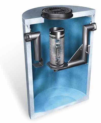 Нефтеотделитель ACO Oleopator K NS 3 (артикул 740.501)
