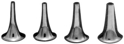 Воронка ушная никелированная №№1,2,3,4