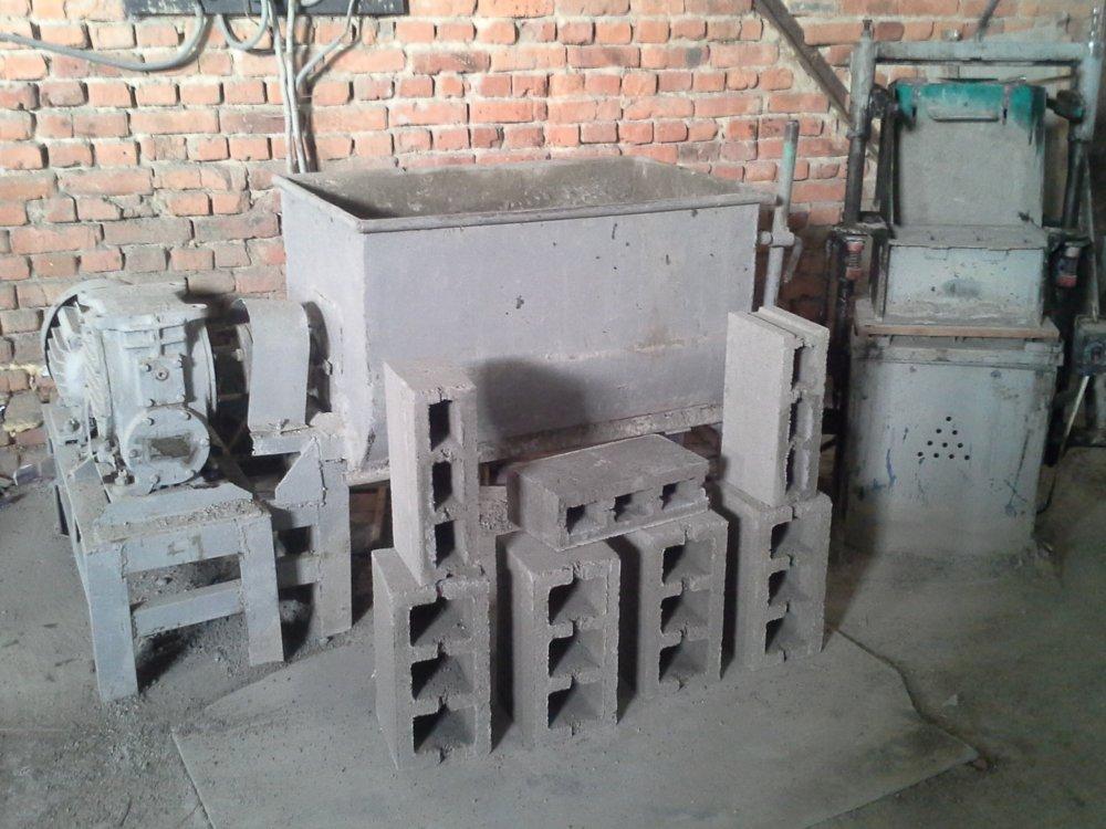 Купить Оборудование для производства газоблоков, щебнеблоков, шлакоблоков