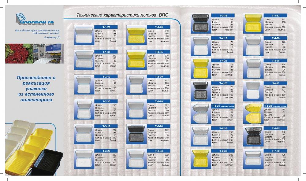 Купить Производство и реализация упаковки из вспененного полистирола
