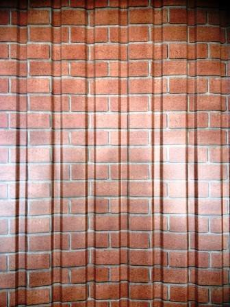 Профнастил стеновой под (КИРПИЧ)