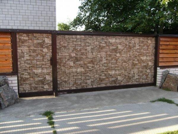 Профнастил стеновой під (КАМІНЬ)