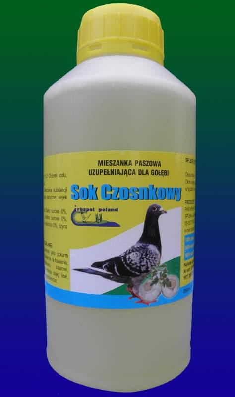Купить Чесночный сок для голубей