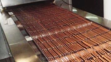 Linie für die Herstellung von süßer Stroh 80-100 kg / Stunde