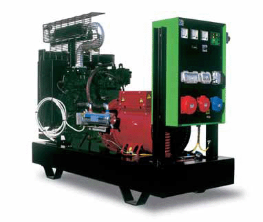 Power plants Green Power (Italy) with diesel PERKINS engines