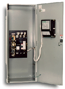 The automatic ASCO switch of a series 300 in the case, 400A.