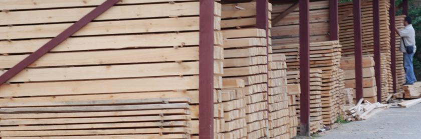 Пиломатериалы строительные сухие — сосна