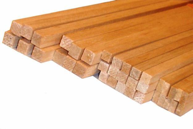 Рейка монтажная деревянная сухая калиброванная и строганная - сосна