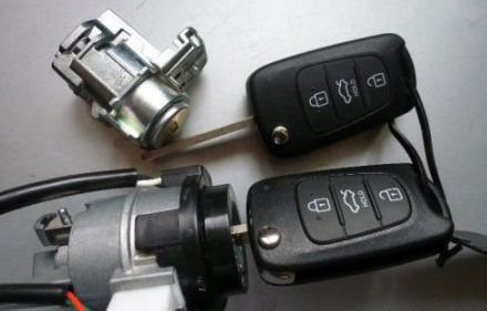 Купить Личинка замка (под ключ) лев.пер.двери Renault Symbol 02-06