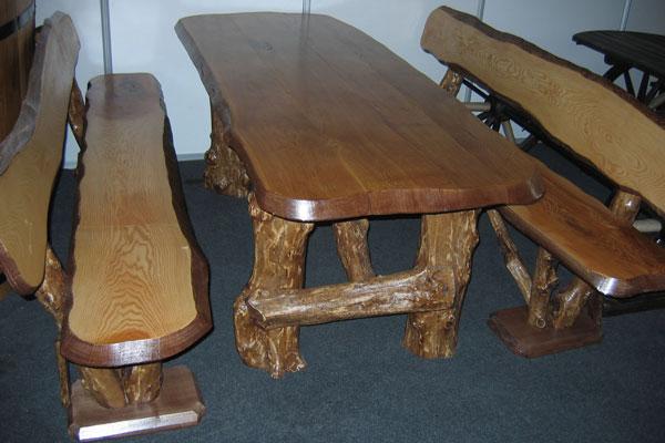 Дубовые столы своими руками