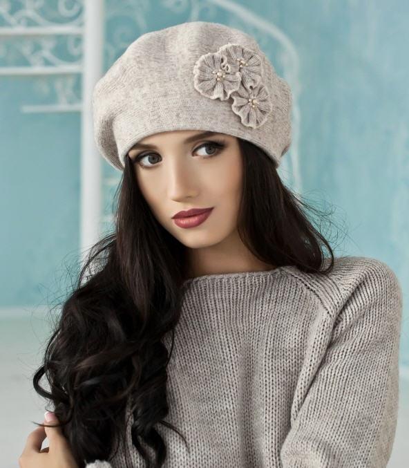Зимовий жіночий берет «Венеція» ✓ оптом від виробника купити в ... 35abcb89c441c