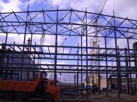 Каркасы инженерных сооружений и строительные металлоконструкции