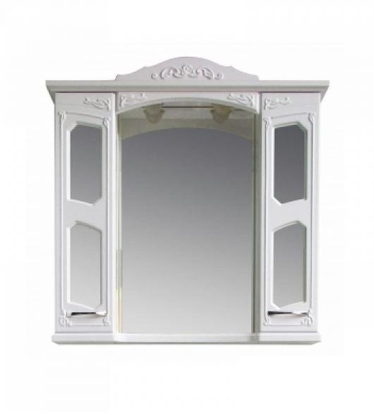 Купить Шкаф зеркальный Атолл Маргарита (белый)