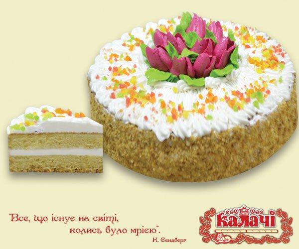 Кремовий, опт торты от производителя