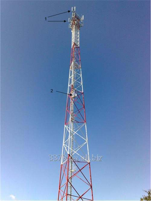 Buy Tower for a cellular network on bolts of the increased durability, height to 60 m