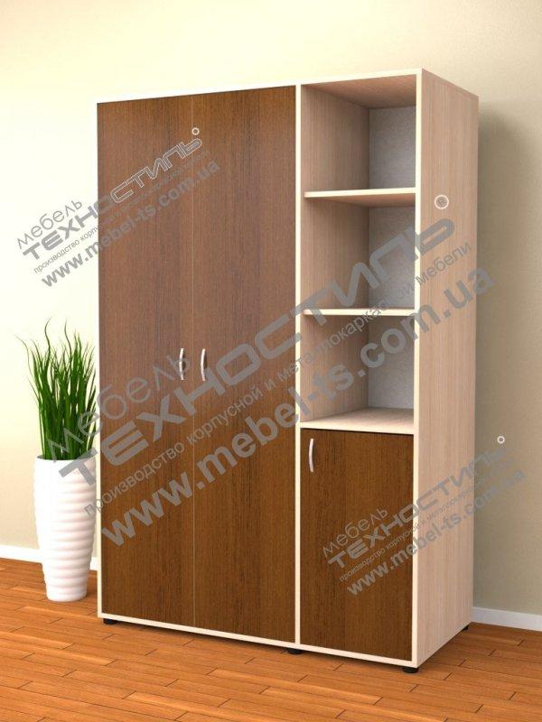 Шкаф для одежды и документов комбинированный (Б 191)