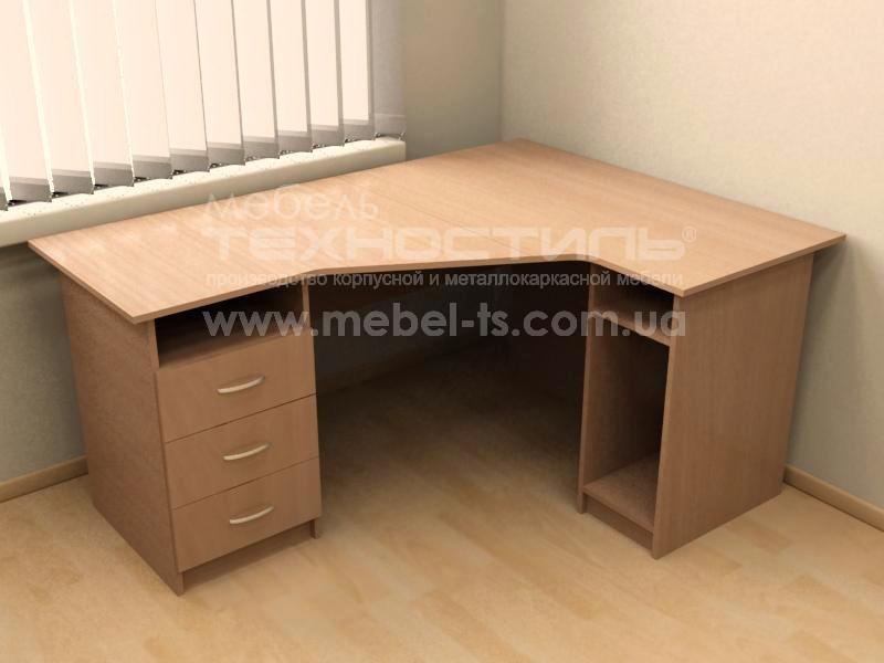 Стол угловой компьютерный (П 624)