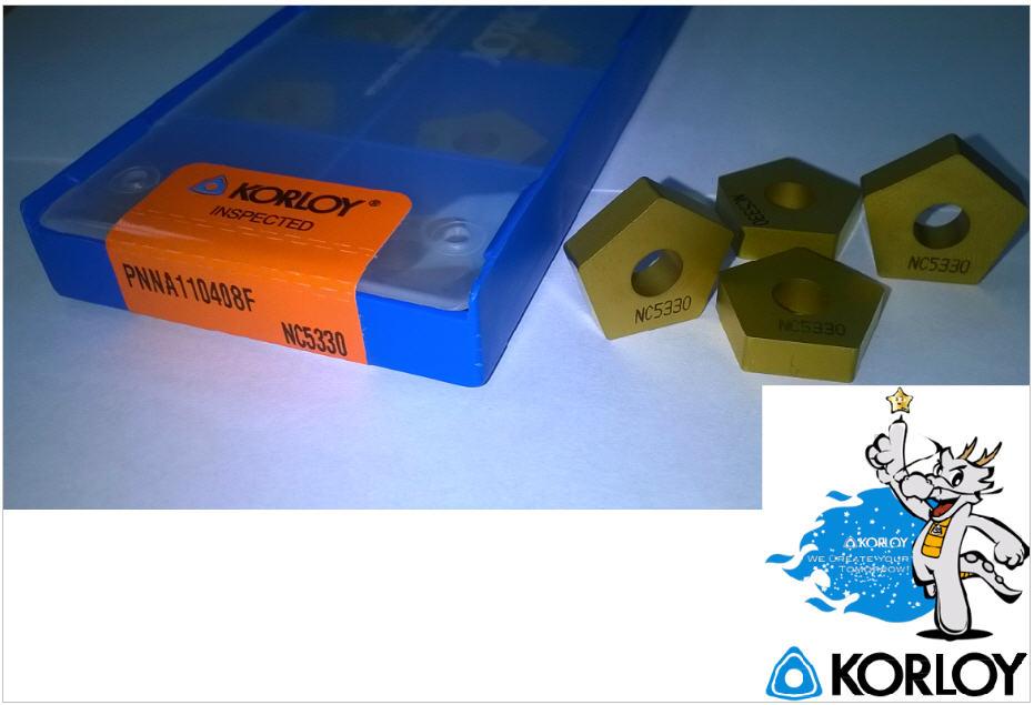 Купить Пластины PNNA 110408F производства компании KORLOY Акциия скидка 20%