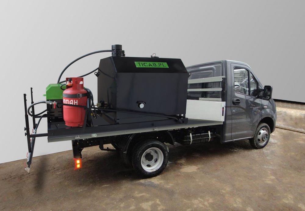 Мини-гудронатор SPRAYER BITUMEN EMULSION BS-500 EUROPE для экономичного и быстрого распыления холодных битумных эмульсий для герметизации асфальтовых покрытий небольших площадей