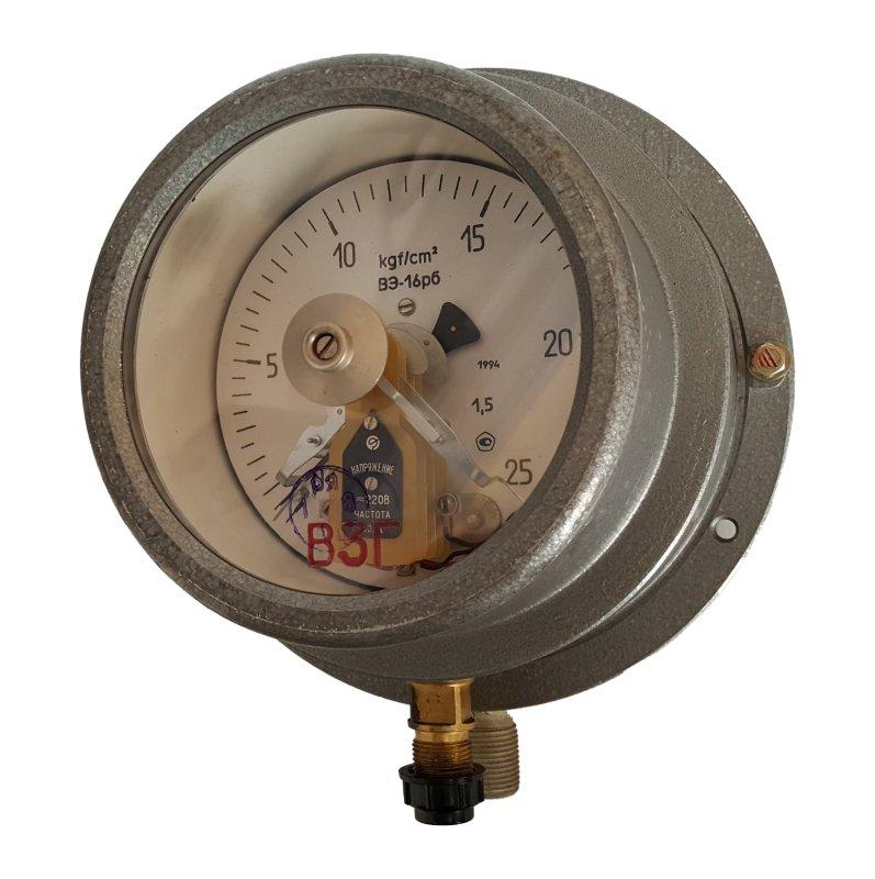 Манометр электроконтактный ВЭ 16Рб 4ЕхdIIB Ру 25 (ру40)