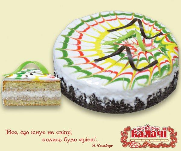 Карнавал, опт торты бисквитные с безе от производителя