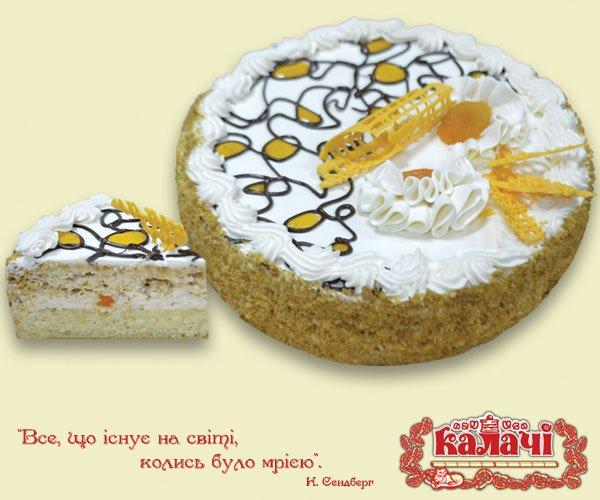 Бисквитно-ореховый торт Кураж от производителя