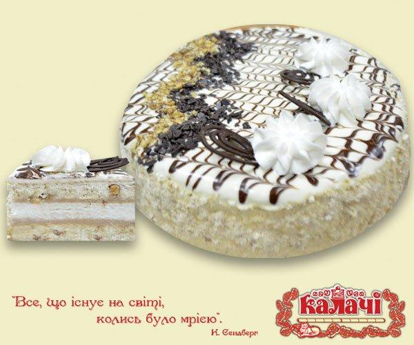 Воздушно-ореховый торт Дебют от производителя