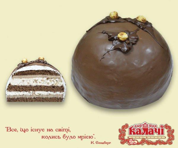 Бисквитно-ореховый торт Вечірній Київ от производителя