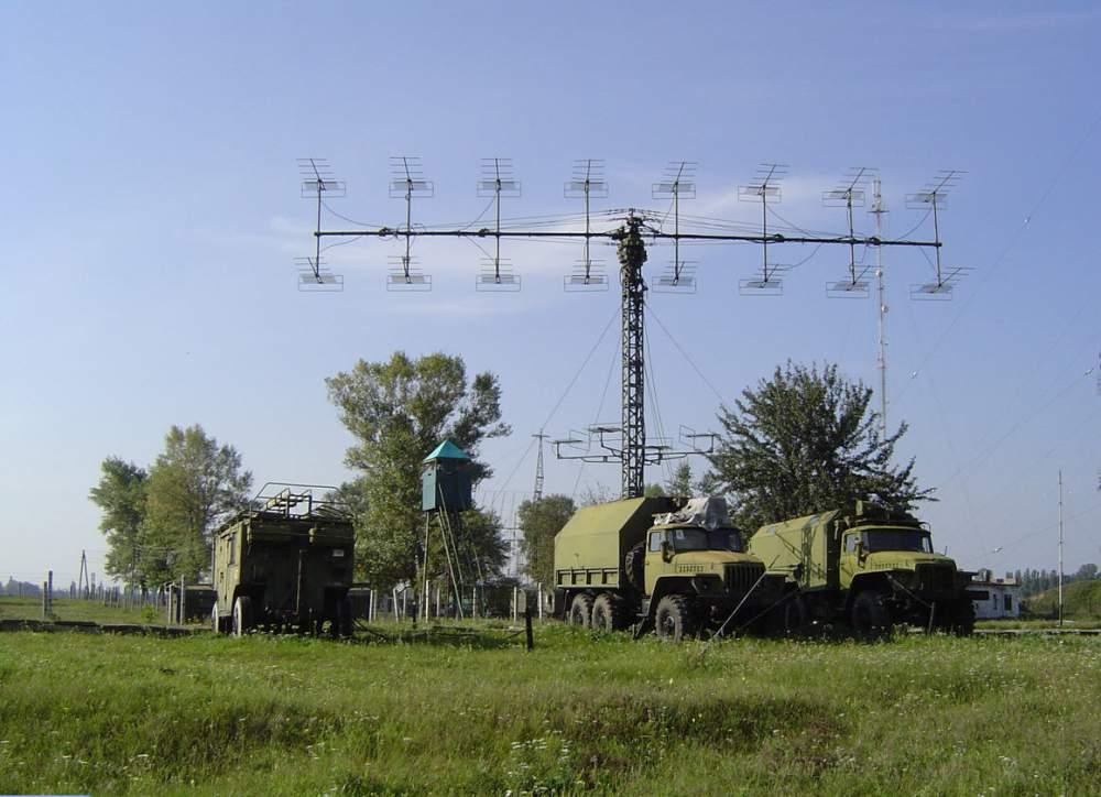 Радиолокационные станции (РЛС) разведки  воздушных и баллистических целей П-18 ММ