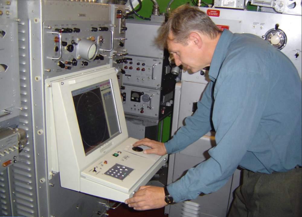 Модернизированная РЛС разведки воздушных целей П-19 МУ.