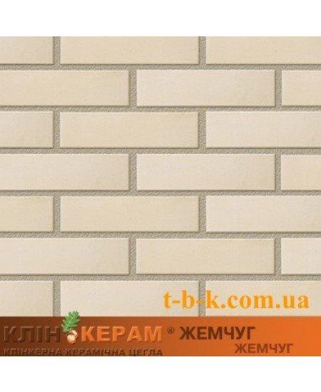 Кирпич облицовочный Керамейя КлинКЕРАМ Жемчуг М350