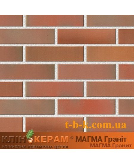 Купить Кирпич облицовочный Керамейя КлинКЕРАМ Магма гранит М350