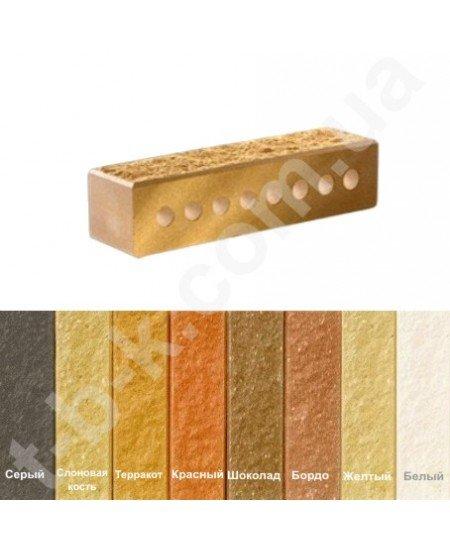 "Buy Brick of Litos Narrow Chipped Hollow f ""-60"" - Yellow"