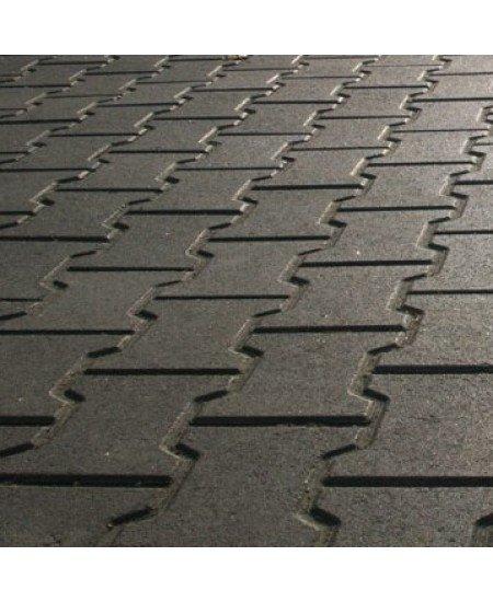 Плитка тротуарная Двойное Т (80мм)
