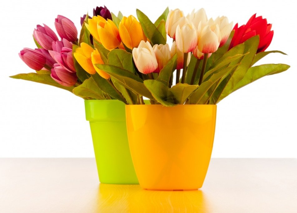 Букеты из тюльпанов и нарциссы — pic 1
