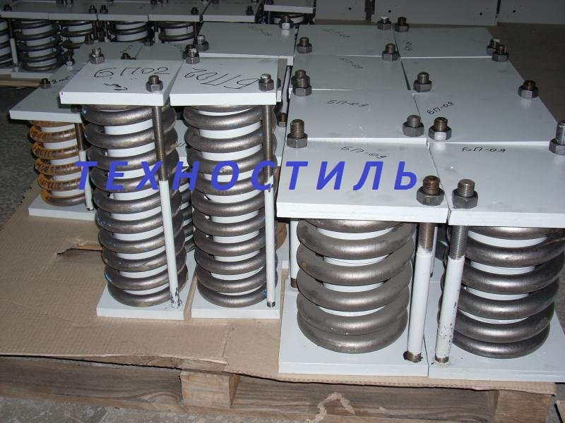 Buy Blocks spring for support and suspenders of pipelines of thermal power plant and the NPP