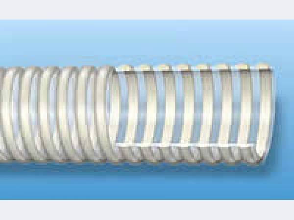 Купить Шланг напорно-всасывающий Трубка ∅25.0х3.0 мм ПВХ-АЖ (армированный жестким ПВХ прутком)
