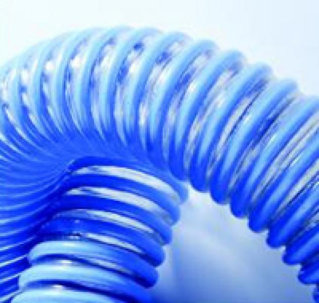 Купить Шланг напорно-всасывающий Трубка ∅100.0х1.0 мм ПВХ-АЖ (армированный жестким ПВХ прутком)