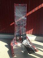 Штабелер ручной гидравлический 1000 кг, Рокла подъемная 1т высота подъема 1700 мм