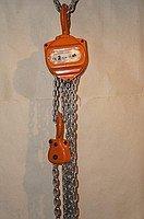 Таль с цепью для подъема и опускания груза