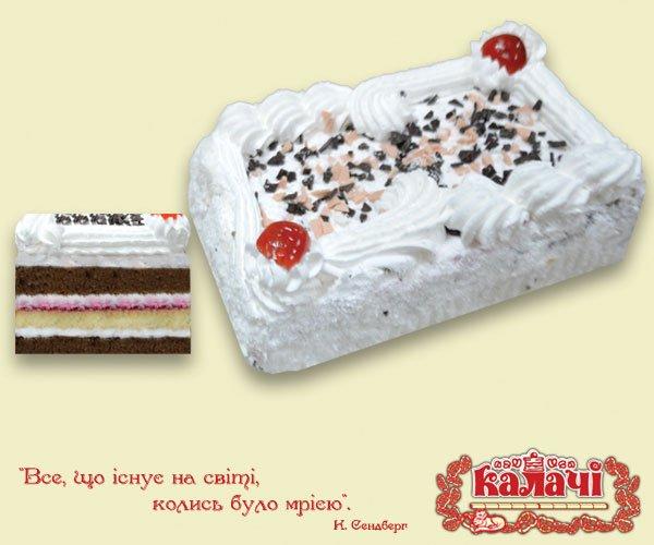 Вишневий рай, опт торты бисквитные весовые от производителя