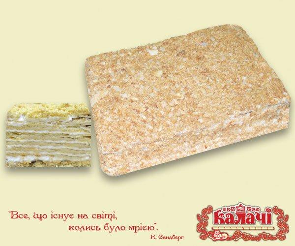 Торт Наполеон, опт торты листовые весовые от производителя