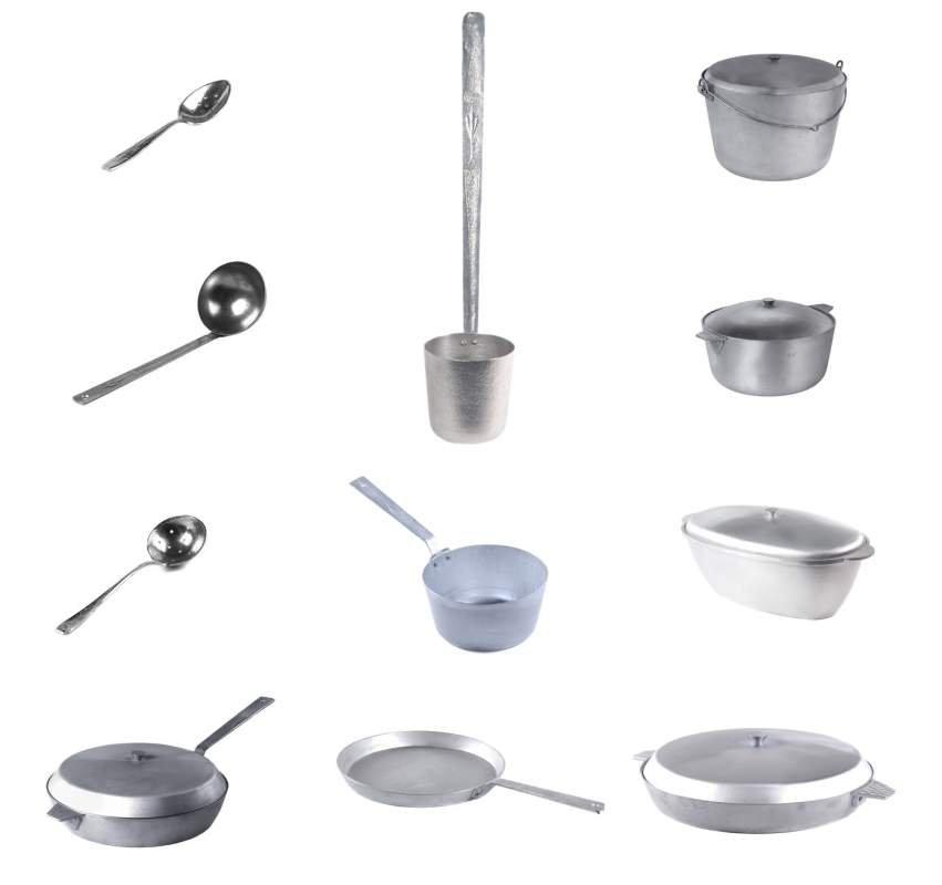 алюминиевая посуда для рыбалки