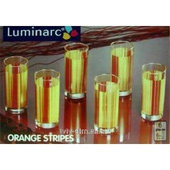 Cтакан Luminarc Stripes Orange g1964